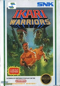 Ikari Warriors Cover Box