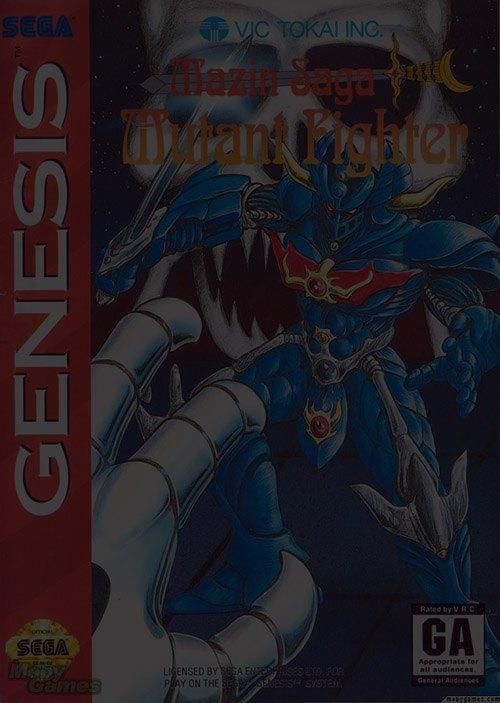 Mazin Saga: Mutant Fighter - Sega Genesis (Mega Drive)