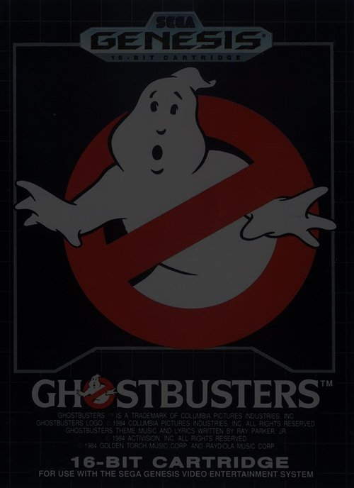 Ghostbusters - Sega Genesis