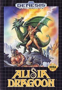 Alisia Dragoon Cover Box