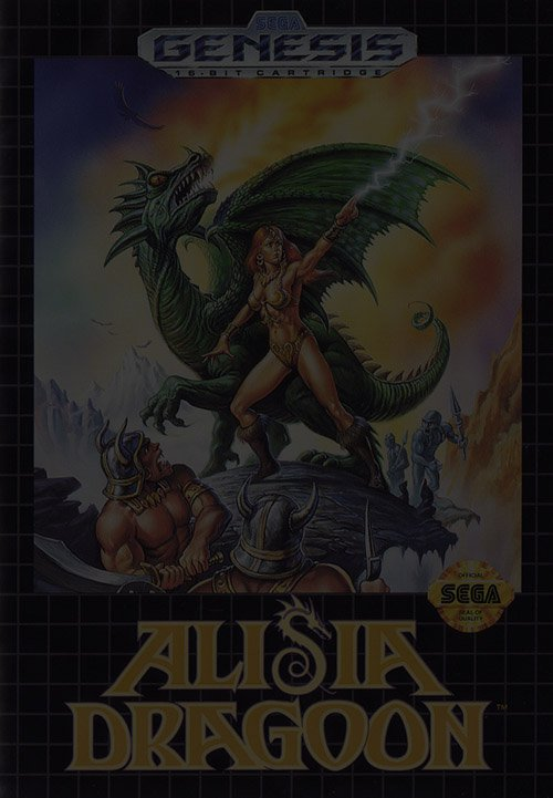 Alisia Dragoon - Sega Genesis (Mega Drive)