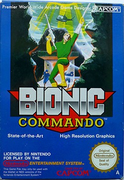 Bionic Commando Cover Box