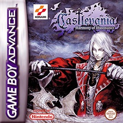 Castlevania: Harmony of Dissonance Cover Box