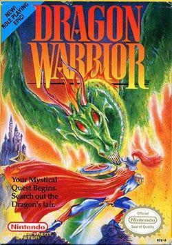 Dragon Warrior Cover Box