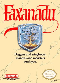 Faxanadu Cover Box