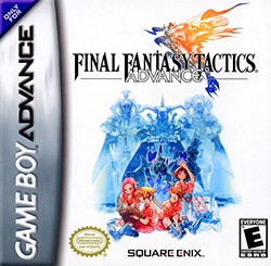 Final Fantasy Tactics Advance Cover Box