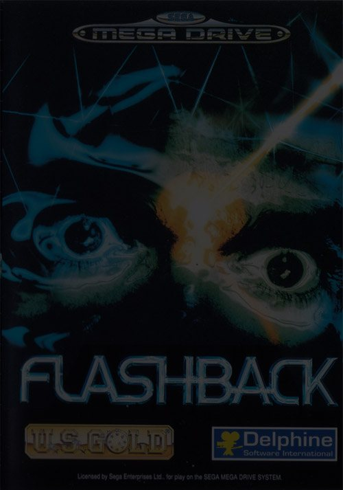 Flashback: The Quest for Identity - Sega Genesis (Mega Drive)