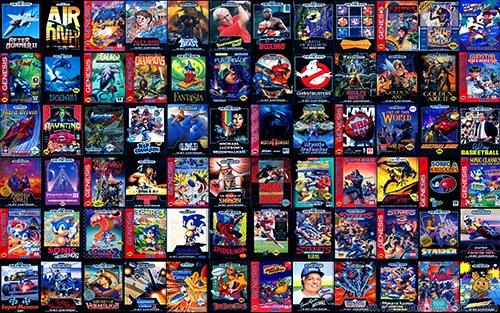 Sega Genesis Games