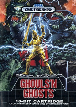Ghouls 'n Ghosts Cover Box