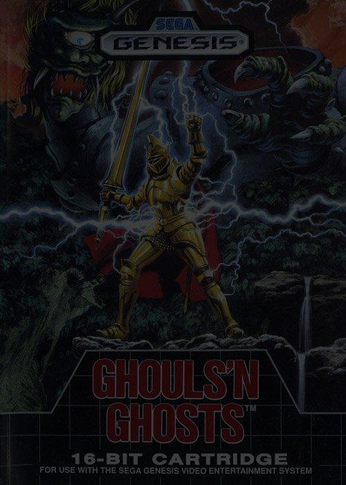 Ghouls 'n Ghosts - Sega Genesis