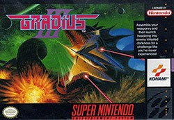 Gradius 3 Cover Box