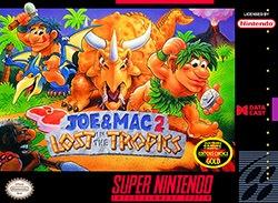 Joe & Mac 2: Lost in the Tropics Cover Box