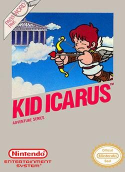 Kid Icarus Cover Box