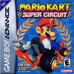 Mario Kart - Super Circuit Cover Box