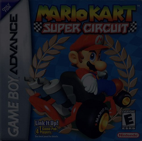 Mario Kart – Super Circuit - Game Boy (GBA)