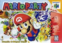Mario Party Cover Box