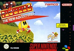 Pac-Man 2: The New Adventures Cover Box
