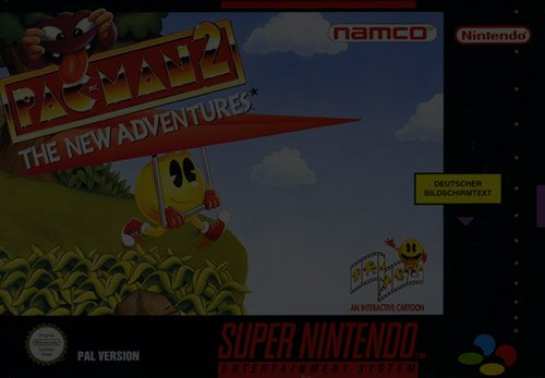 Pac-Man 2: The New Adventures - Super Nintendo (SNES)