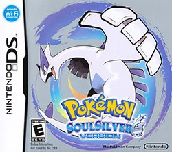 Pokemon SoulSilver Version Cover Box
