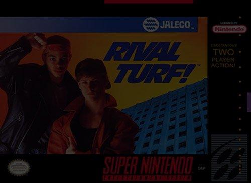 Rival Turf - Super Nintendo (SNES)