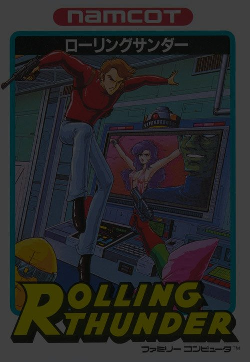Rolling Thunder - Nintendo NES