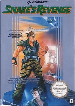 Snake's Revenge Cover Box
