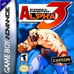 Street Fighter Alpha 3 Cover Box