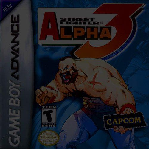 Street Fighter Alpha 3 - Game Boy (GBA)