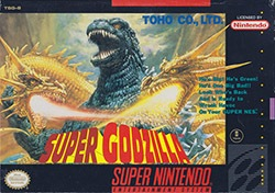 Super Godzilla Cover Box