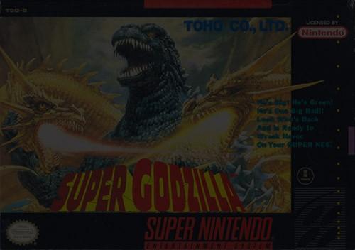 Super Godzilla - Super Nintendo (SNES)