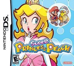 Super Princess Peach Cover Box
