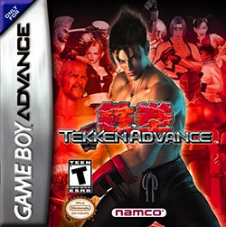 Tekken Advance Cover Box