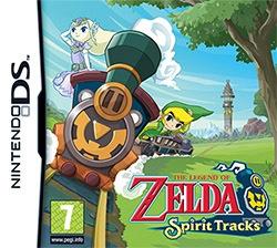 The Legend of Zelda: Spirit Tracks Cover Box