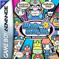 WarioWare, Inc. Cover Box