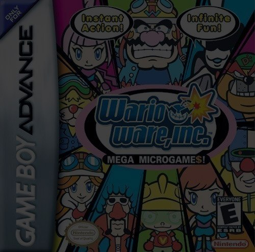 WarioWare, Inc. - Game Boy (GBA)