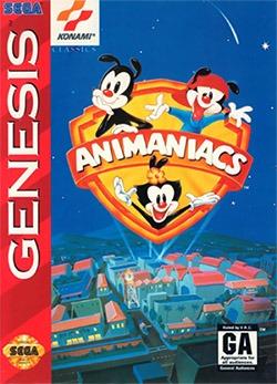 Animaniacs Cover Box