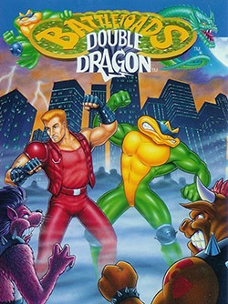 Battletoads & Double Dragon: The Ultimate Team Cover Box