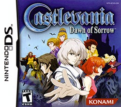 Castlevania: Dawn of Sorrow Cover Box