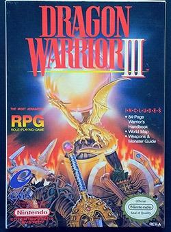 Dragon Warrior 3 Cover Box