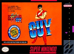 Final Fight Guy Cover Box