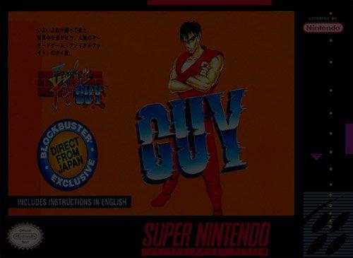 Final Fight Guy - Super Nintendo (SNES)