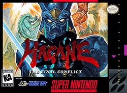 Hagane: The Final Conflict Cover Box