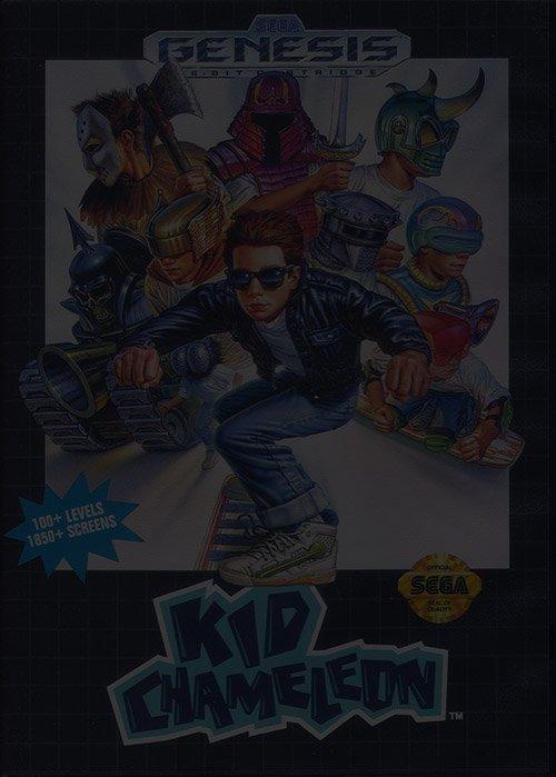 Kid Chameleon - Sega Genesis (Mega Drive)