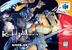 Killer Instinct Gold Cover Box