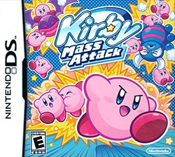 Kirby Mass Attack Cover Box