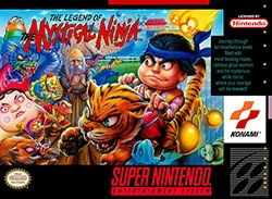 Legend of the Mystical Ninja Cover Box