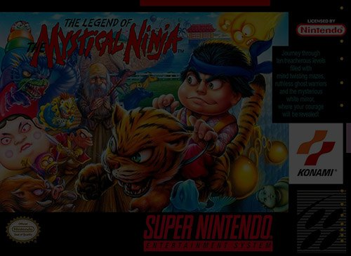 Legend of the Mystical Ninja - Super Nintendo (SNES)