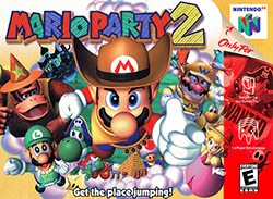 Mario Party 2 Cover Box