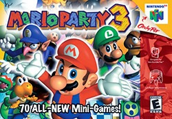 Mario Party 3 Cover Box