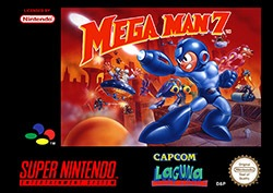 Mega Man 7 Cover Box